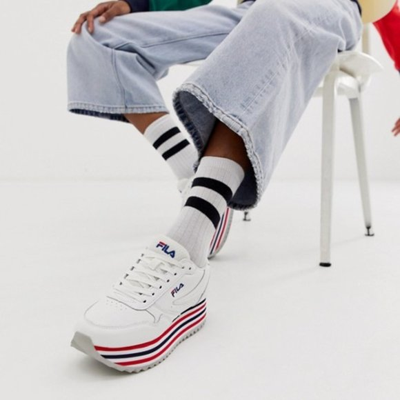 Fila Shoes   Nib Fila Orbit Zeppa Low